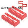 3x Interruptor Dip Switch 10 posiciones 10p ON OFF 2.54mm SP
