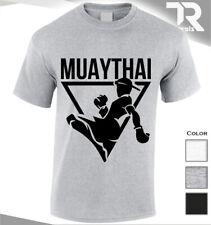 Muay Thai Kickboxing Gimnasio Culturismo Camiseta Entrenamiento MMA UFC Luchador Camiseta Top