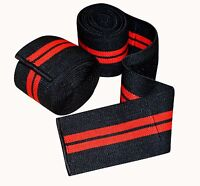Prime Sports Knee Wraps (Pair) for Cross Training WODs Gym Workout Weightlifting