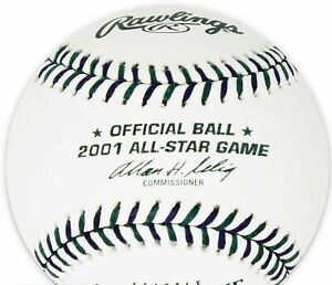 2001 All Star Game Official MLB Rawlings Baseball Seattle Mariners  Boxed