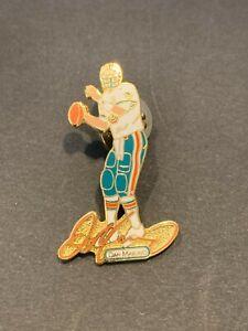 Dan Marino Miami Dolphins Peter David Co. Pin Pinback NFL