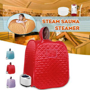 Foldable 2.68L Home Spa Steam Sauna Tent DIY Full Body Loss Weight Detox Therapy