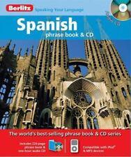 Berlitz Spanish Phrase Book (Berlitz Phrase Book & CD)
