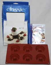 Silikomart Classic - Silicone Dessert Mould Tray - Safe from -60 to +230 Degrees