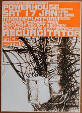REGURGITATOR w. SEKIDEN 2004 A2 Concert Poster BRISBANE Music Tour Indie UNUSED