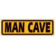 "Man Cave Tin Sign Garage Novelty Bar 18 x 5.5"" Ande Rooney"