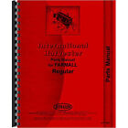 New Parts Manual for McCormick Deering Fits International Harester Reg and Fairw
