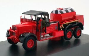 Oxford Diecast 1/76 Scale 76WOT002 - Fordson WOT 1 Crash Tender RAF - Red