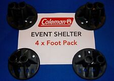 Genuine Coleman Event Shelter Replacement Spare New Set of Four Feet