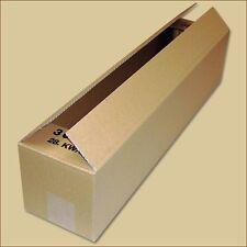 Karton Faltkarton Faltschachteln 600 x 130 x 130 mm einwellig