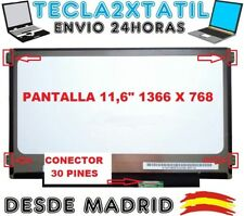 "PANTALLA PORTATIL Dell Inspiron 11 3162 11,6"" HD LCD LED 30 PIN EDP 1366X768"