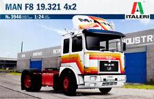 MAN F8 19.321 4x2 Truck LKW 1:24 Model Kit Bausatz Italeri 3946