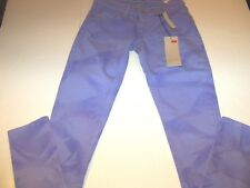 LEVI 524 STRETCH TYE DYED TOO SUPERLOW JEANS JR SZ 7 M-VIOLET- NWT