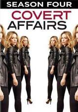 Covert Affairs Complete Season Four 4 R1 DVD Set