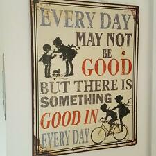 Pictorial Inspirational Decorative Plaques & Signs