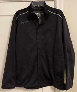 NWOT Nike Golf Storm Fit 10 Logo Waterproof Full Zip Jacket Men's Sz M!