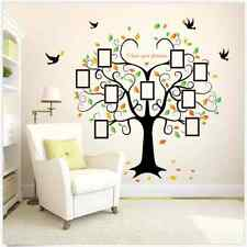 Large Home Family Decal Photo Tree Removable Art Decor Wall Sticker Vinyl