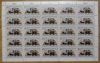 Bund 1300 postfrisch Bogen BRD Tag der Briefmarke 1986 Full Sheet MNH FN 2
