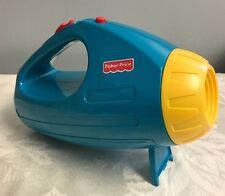 Fisher Price Shadows and Sounds Flashlight Camping Vintage Rare Works Great !