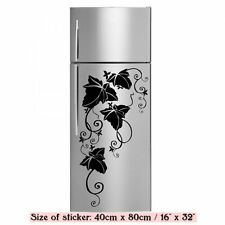 Amazing Vine Floral Corner - Fridge Kitchen Decal / Wall Stickers 40cm x 80cm UK