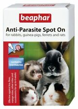 Anti-Parasite Wormer Lice Fleas  Spot on Rabbit Guinea Pig Ferrets Beaphar