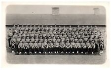 Postcard WW2 London Scottish Regiment Soldiers Officers Group Army RPPC 13a