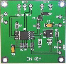 CW Key Assembled PCB Ham Radio Morse Code kit keyer