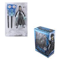Sword Art Online Kirito Kazuto Figure SAO Collection Toy Figma 174 in Box Gift