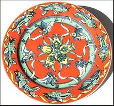 Piatti da cucina dessert rossi in porcellana