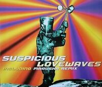 Suspicious Love waves (5 versions, 1995, incl. Marusha Remix) [Maxi-CD]