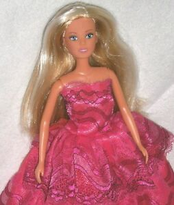 """SIMBA TOYS STEFFI LOVE, BLONDE DOLL w/ HIGHLIGHTS ~ 11 1/2"""" TALL for DIY / OOAK"""