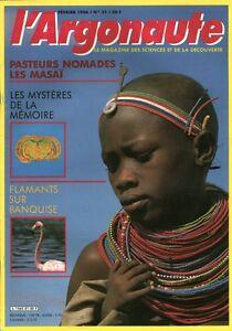 Revue l'argonaute No 31 Février 1986 pasteurs nomades les Masaï