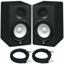 "YAMAHA HS5 POWERED STUDIO MONITOR >>PAIR<<, 5"", 2-Way, 70W  Free Cables!"