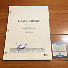 HARRY LOYD SIGNED GAME OF THRONES FULL 61 PAGE PILOT SCRIPT w/ BECKETT BAS COA