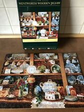 """Wentworth Wooden Jigsaw Puzzle - """"The Christmas Dresser"""" - 250 Pieces Complete"""