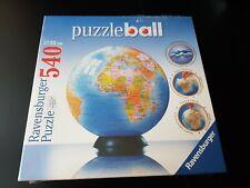 Ravensburger: mundo Globe 540 Pieza 3D Rompecabezas * Nuevo *