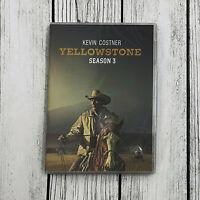Yellowstone Season 3 (DVD 4-Disc Set) Brand NEW & Sealed Fast Shipping US Seller
