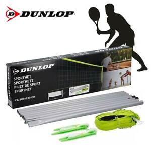 Rete Sportiva Per Tennis Pallavolo Set Completo Sport Dunlop Volleybal 609x220cm