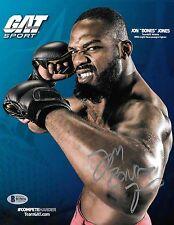 Jon Jones Signed 8.5x11 Photo BAS Beckett COA UFC Promo Picture Autograph 159 94