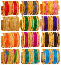 Indian Bollywood Fashion Multi Colored Kids Bangles Set Bridal Jewelry for Kids