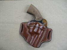 "Armscor M206 Revolver 6 Shot 2"" Leather 2 Slot Pancake Belt Holster TAN RH"