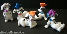 Disney 101 Dalmations McDonalds Happy Meal Toys Lot of 5 puppies things on head