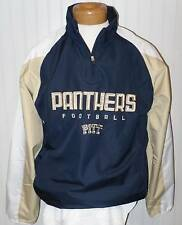 NWT Adidas Pitt Panthers Mens ClimaProof 1/4-Zip Pullover Jacket S Navy MSRP$65