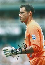 Carlo CUDICINI Signed 12x8 Photo AFTAL COA Autograph Spurs Tottenham Hotspurs
