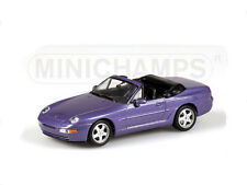 Minichamps 1:43 400 062331 PORSCHE 968 CABRIOLET 1994 Purple Metallic NEW