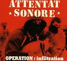 Attentato sonore-operazione infiltrazione CD (2011) Francia protesta-Punk