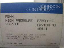 NEW JOHNSON CONTROLS P70DA-1E PRESSURE CONTROL P70DA1E