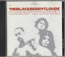 THE BLACKBERRY CLOUDS - cheap'n'down CD