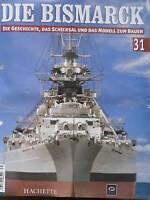 Bismarck//Ausgabe 133 //Hachette//Die Geschichte und  Modell Bauen