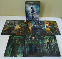 Arrow The Complete Season Series 1 2 3 4 5 6 7 DVD 35 Disc Set Region 2